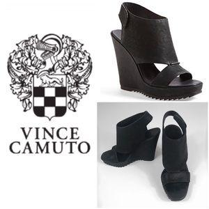 Vince Camuto Gevara Leather Wedge. Size 8.5